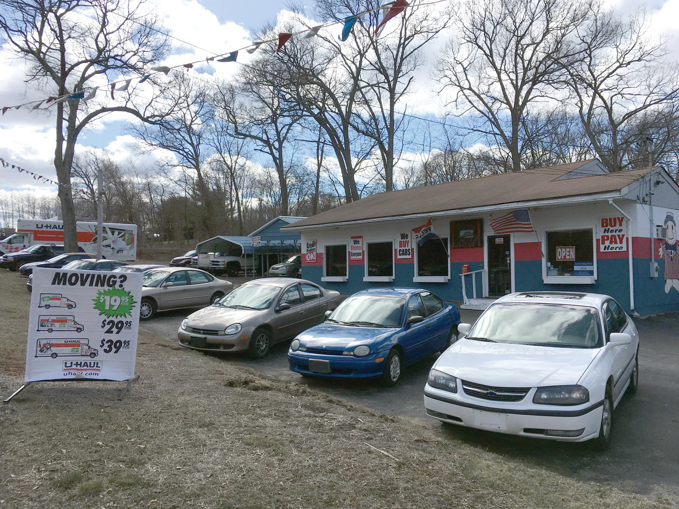 ziggy's auto sales a buy-here, pay-here dealership in north