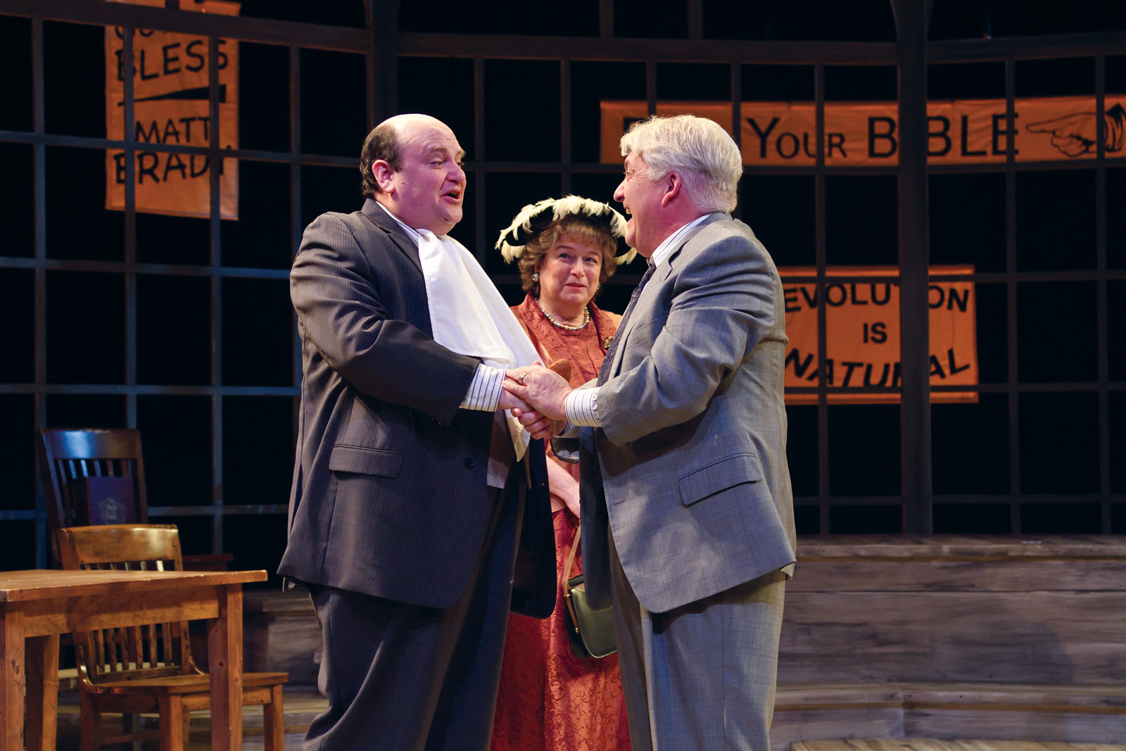 a review of brady and drummond in inherit the wind Regent university law review i the story of the play a  handsome young science teacher named bert cates, dedicated to.