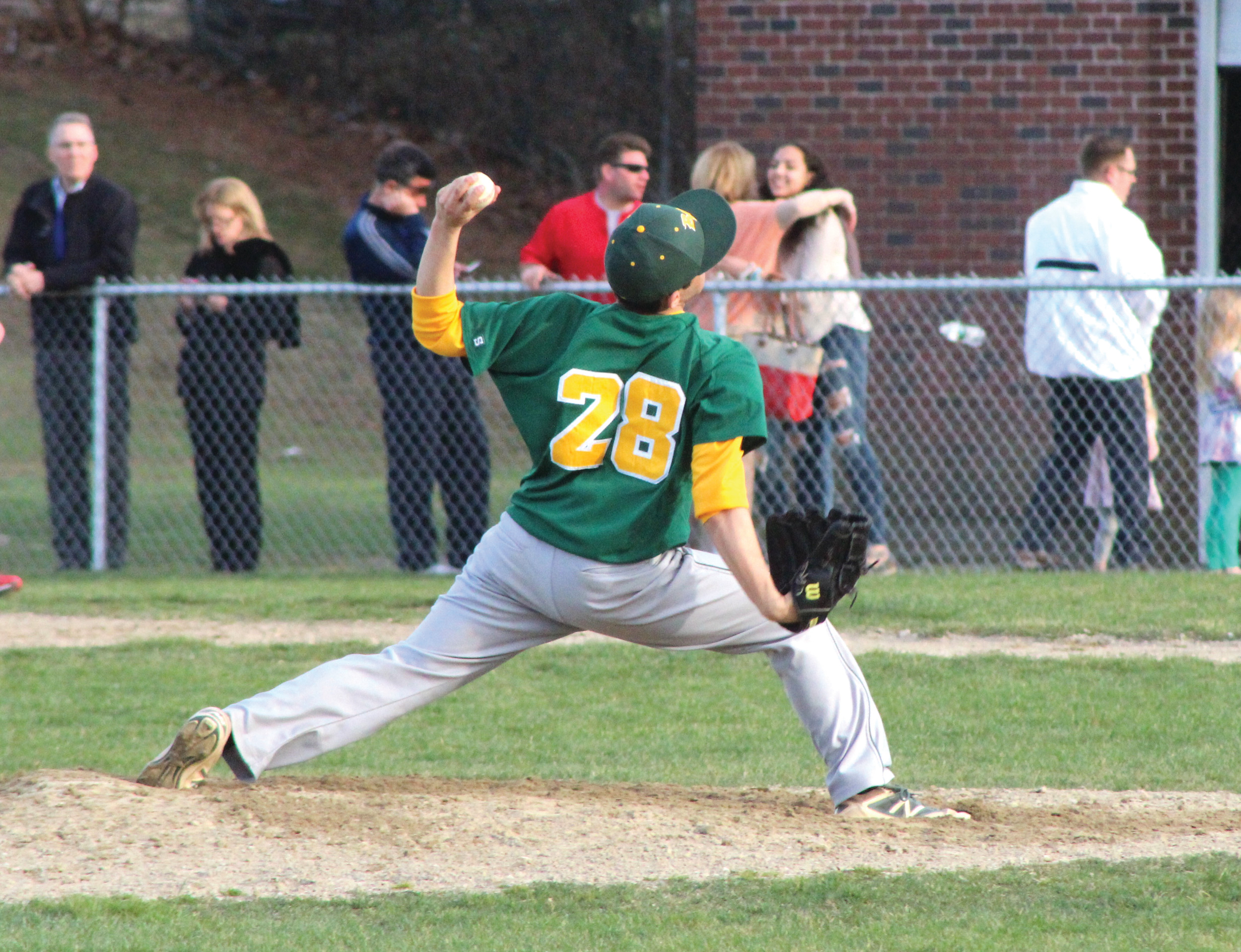 STRONG DEBUT: Hendricken sophomore left-hander Kyle Marrapese picked up the win against West, tossing 3 2/3 innings or scoreless relief.