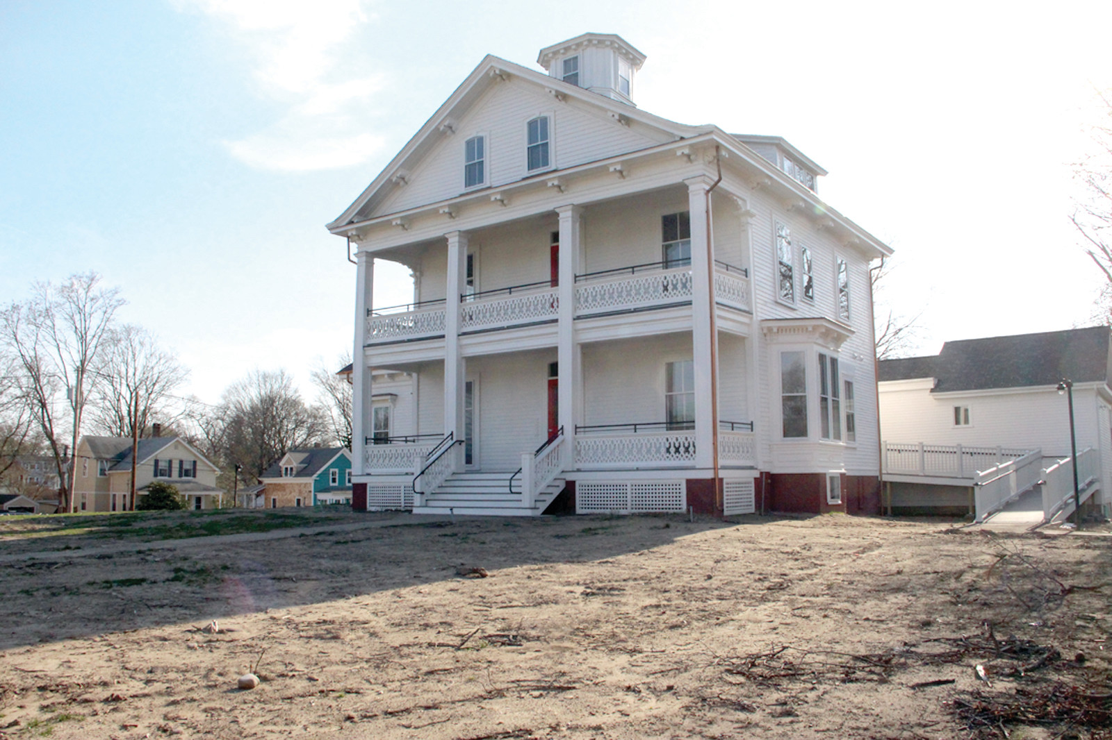 READY FOR A NEW ROLE: Restoration of the Fair Street mansion has been completed and will soon begin a new life as home for 10 affordable housing apartments. An open house fundraiser is planned for this Thursday evening.
