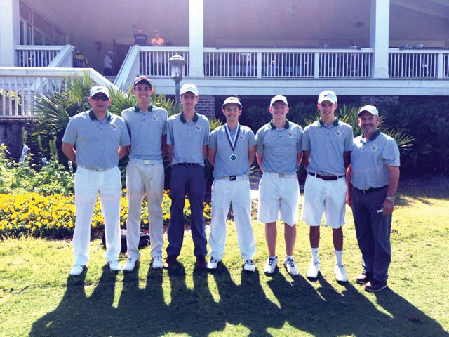 IMPRESSIVE PLAY: The Hendricken golf team nearly earned a spot on the podium at the Palmetto High School Championship in South Carolina over the weekend.