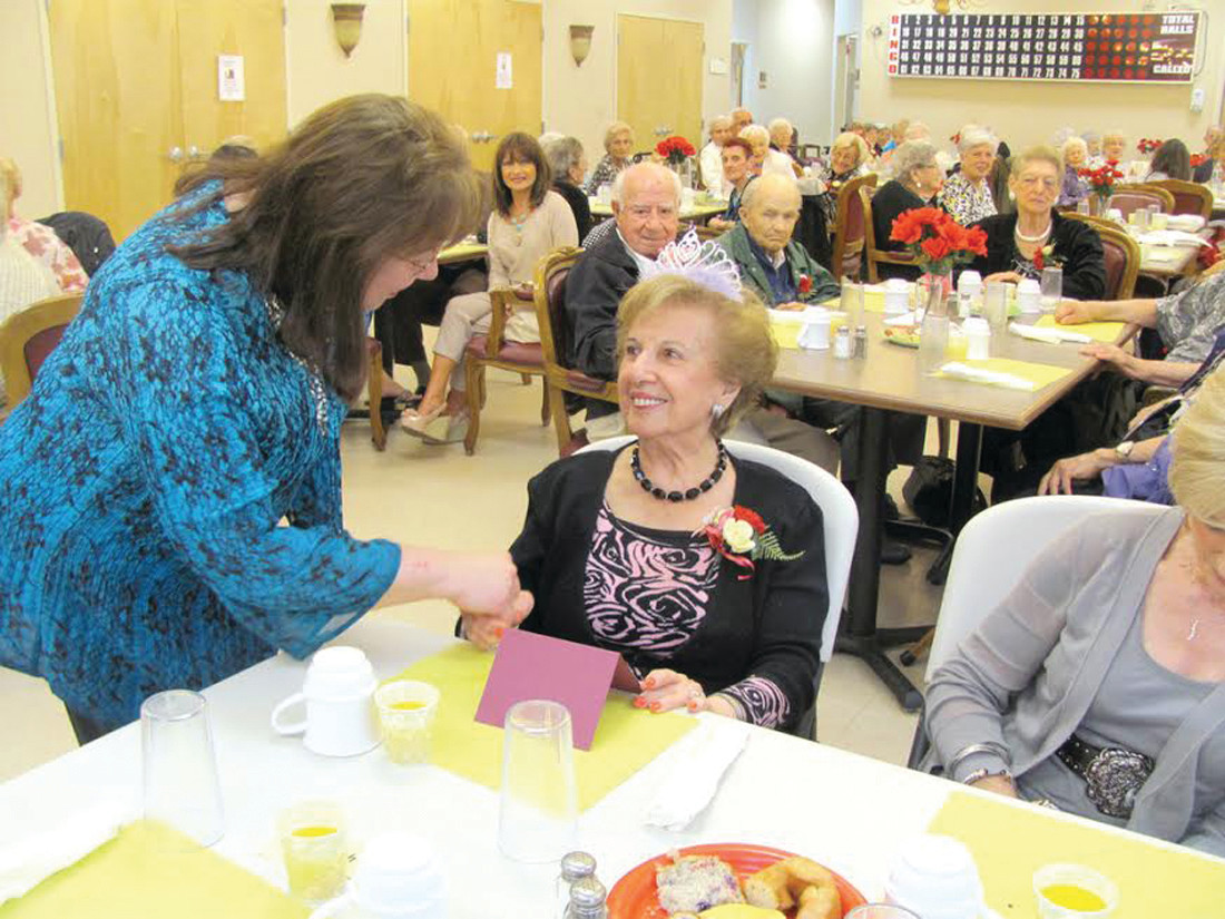 "GRAND OCCASION: Emma (Rotondo) Pezza, a.k.a. ""Queen of the Johnston Senior Center's Nifty Nineties Club,"" has been chosen as the grand marshal for the 8th Annual Our Lady of Grace Primavera that will be held on Sunday, April 30. Pezza, now 106, is believed to be the oldest living Rhode Islander."