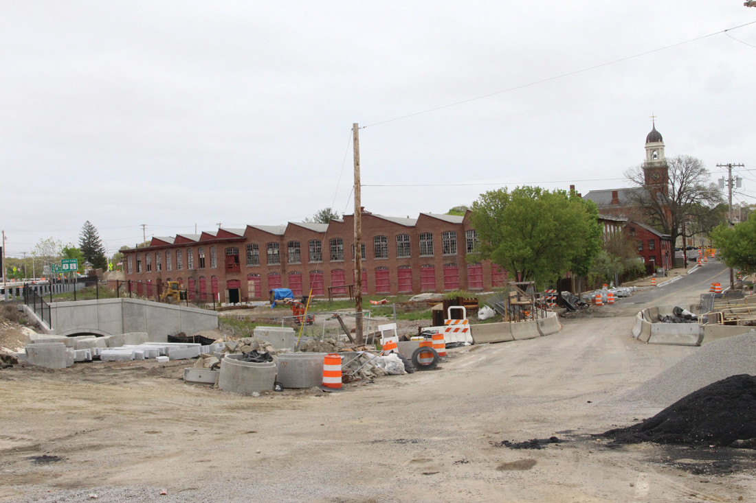 UP FOR AUCTION: The saw tooth building that was once part of the Apponaug Mill will go up for auction should the original owner not exercise a right of first refusal.
