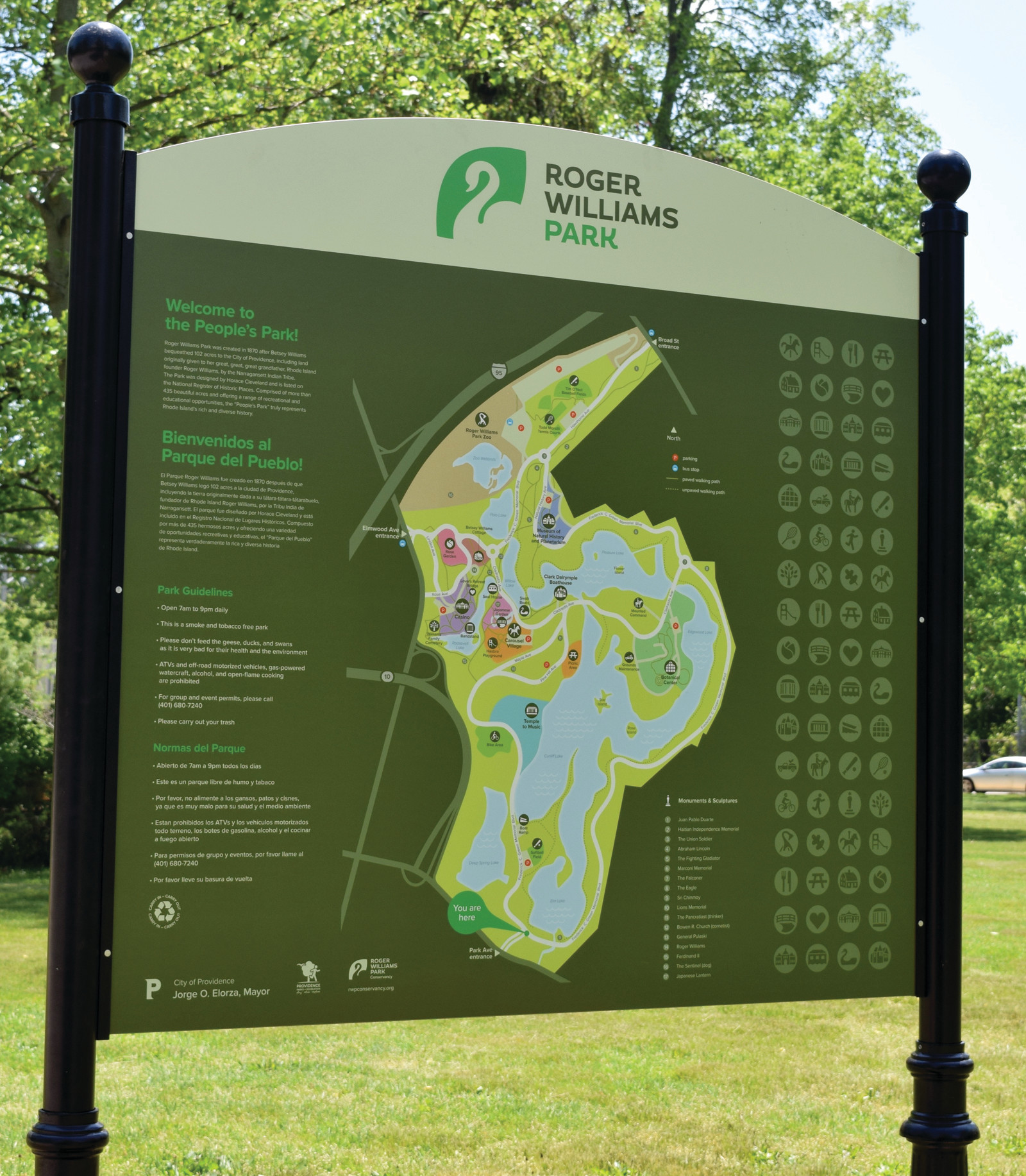 Roger Williams Park: One-way Roger Williams Greenway Loop Draws Mostly Negative