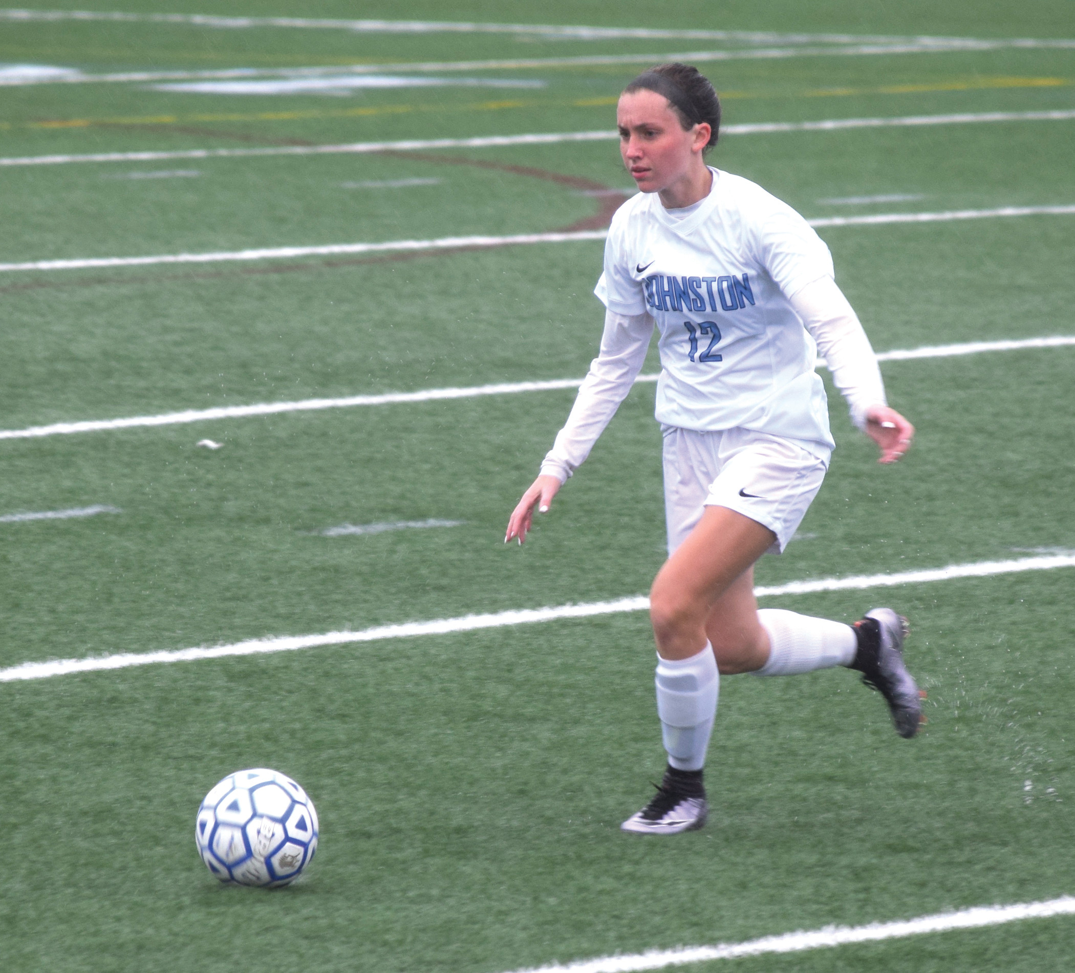 Gabriella Sauro netted a goal for the Panthers in a 10-0 win against PCD.