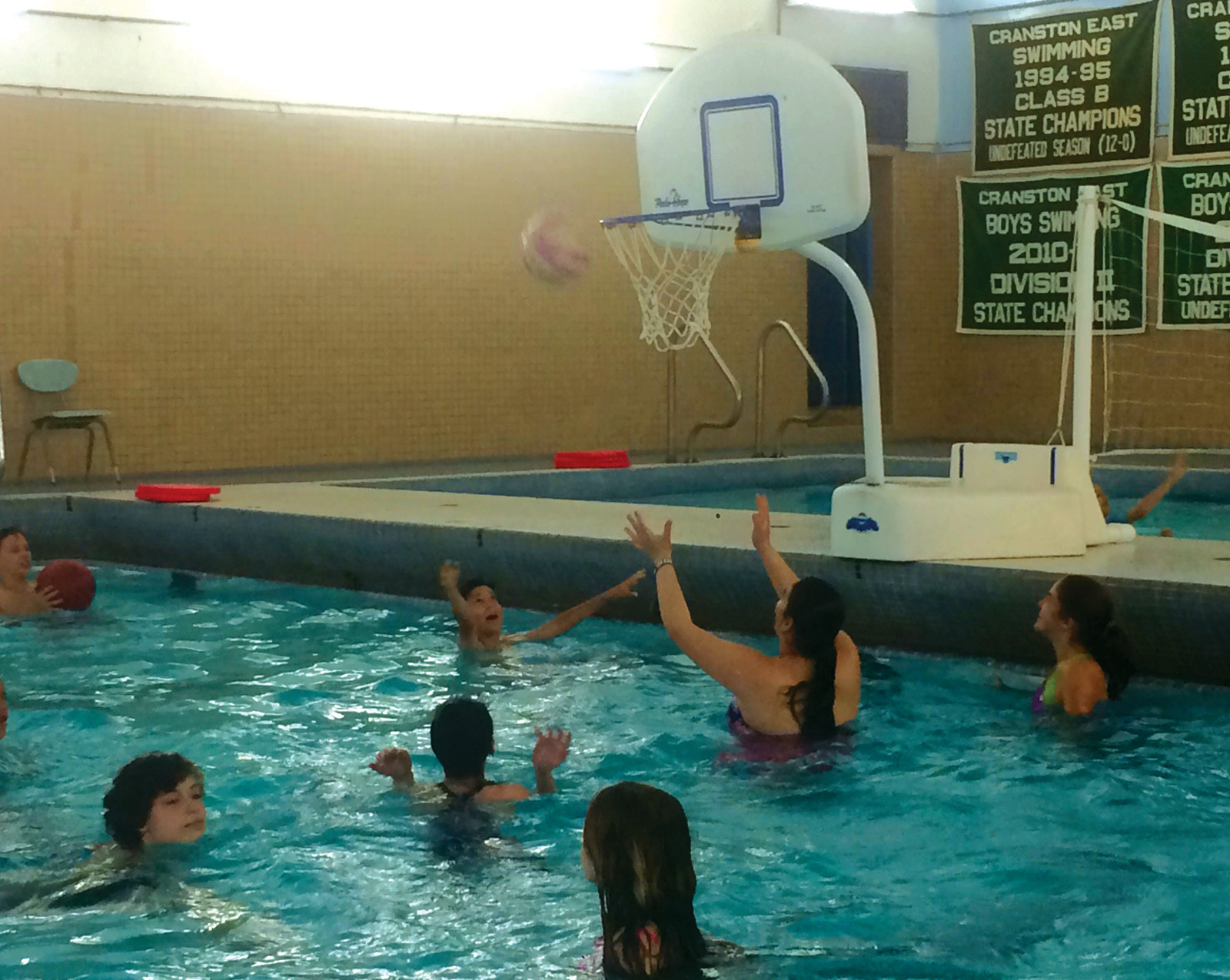 d8dd1370192d READY TO GO  Students enjoy the pool during Park View Middle School s Field  ...