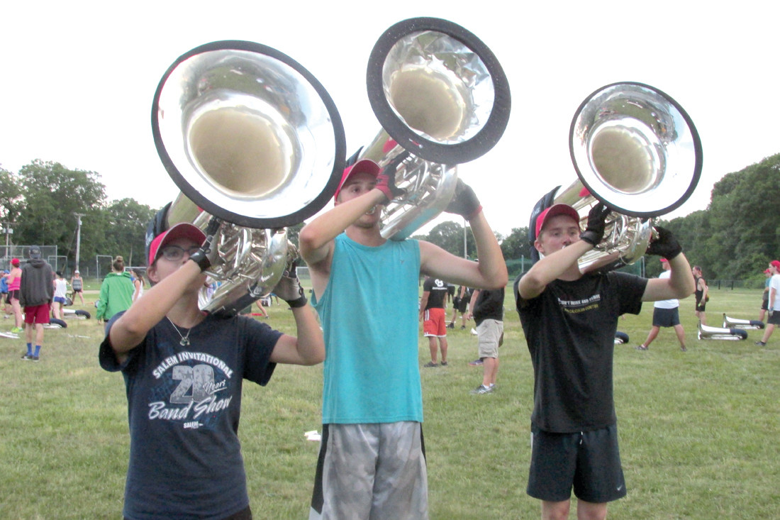 Hendricken Is Base Camp For Traveling Drum And Bugle Corps