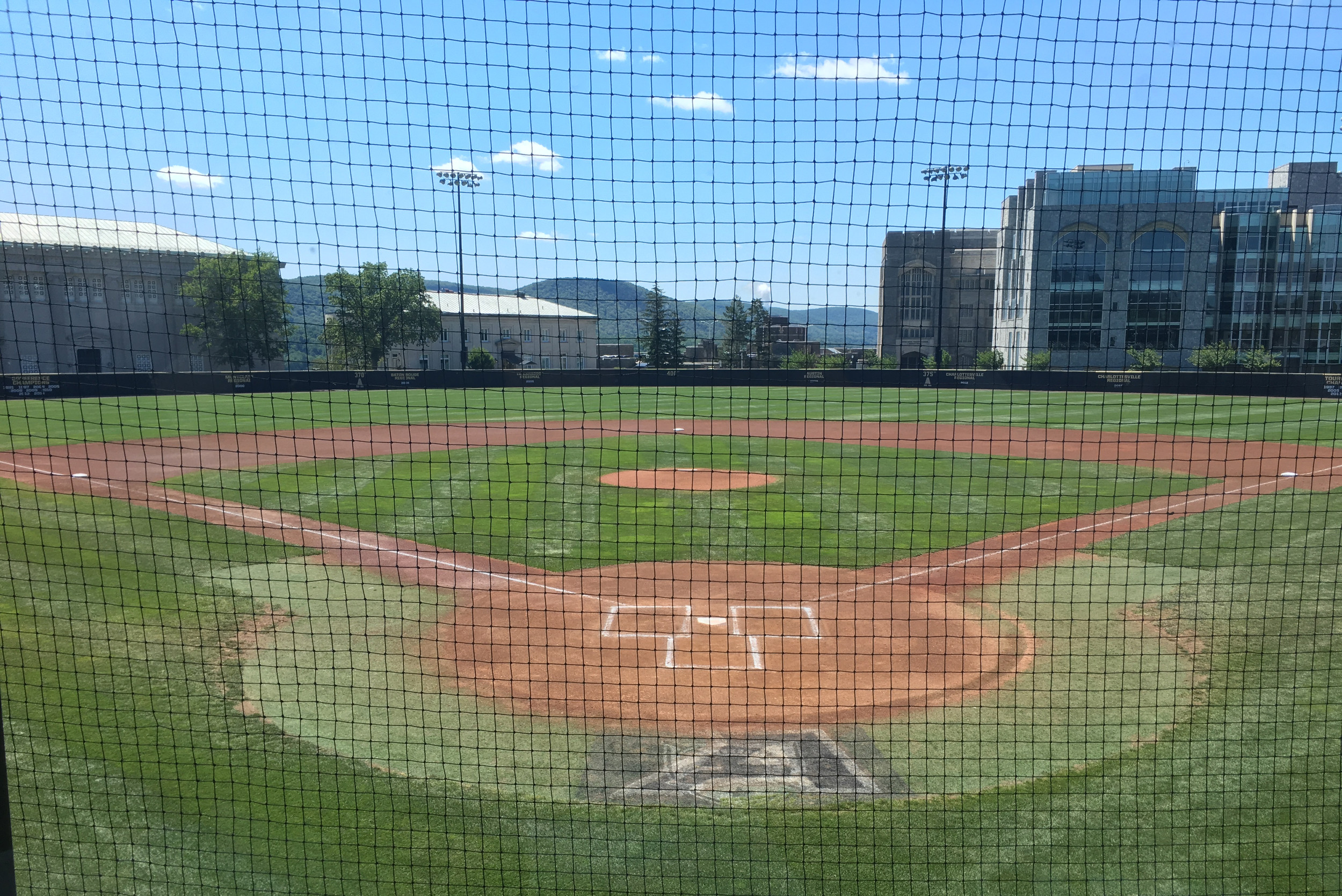 RARE OPPORTUNITY: Gershkoff got to play at Army's Doubleday Field over the weekend.