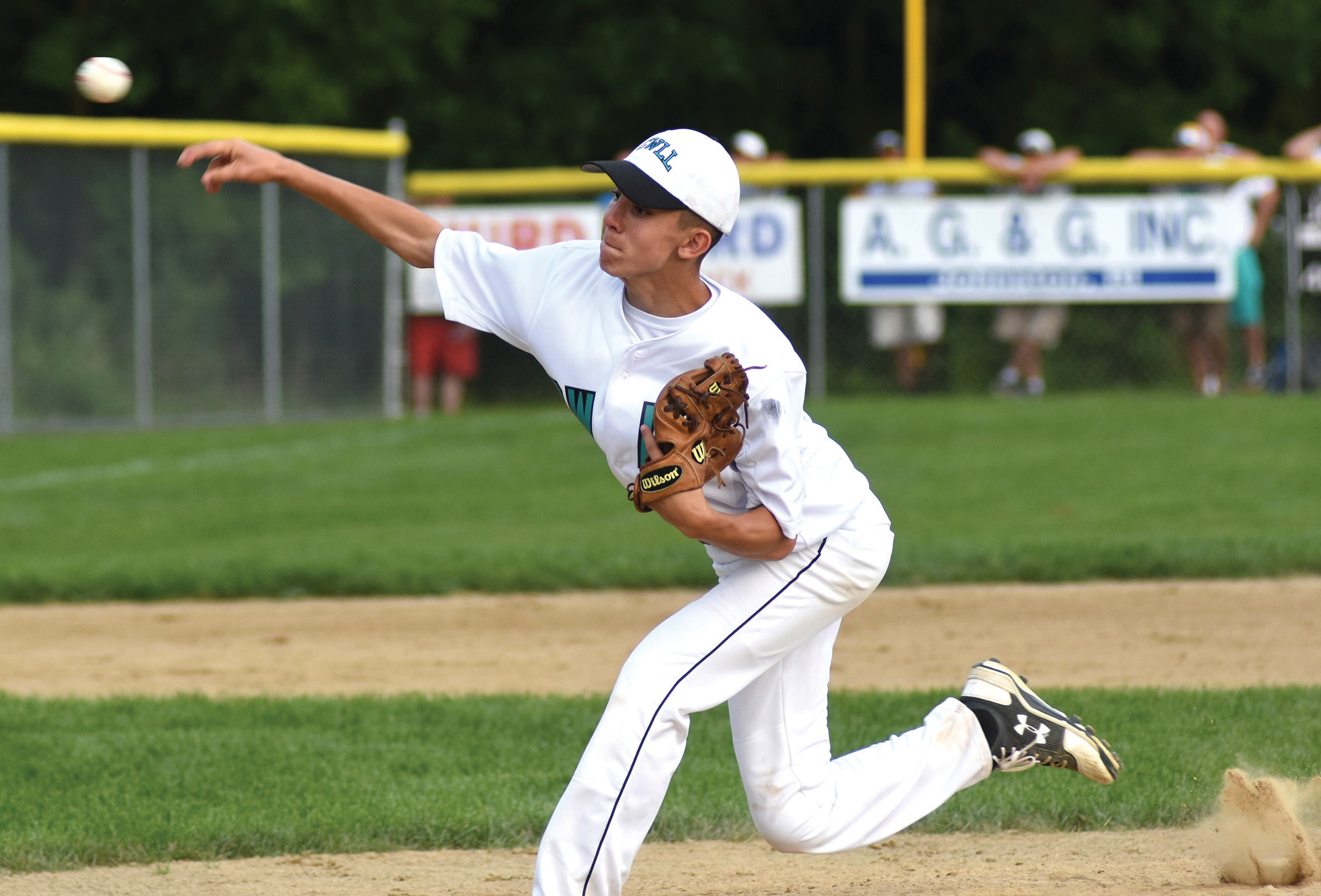 Perry Gaudreau produced a strong start on the mound for Cranston Western as it fell to Cumberland American, 2-0.