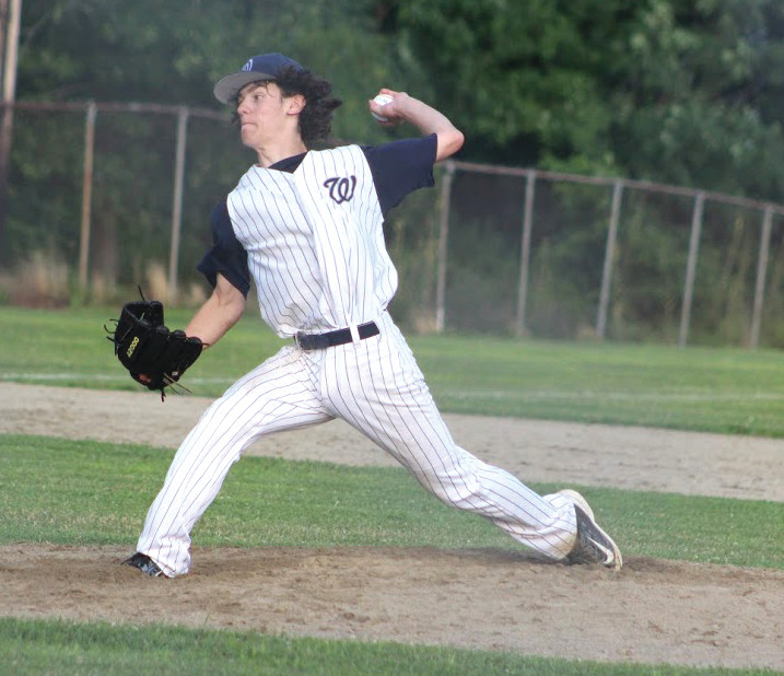 HURLING A GEM: Derek Lallo tossed a complete game in PAL's 2-0 win over the Cranston Bulldogs.