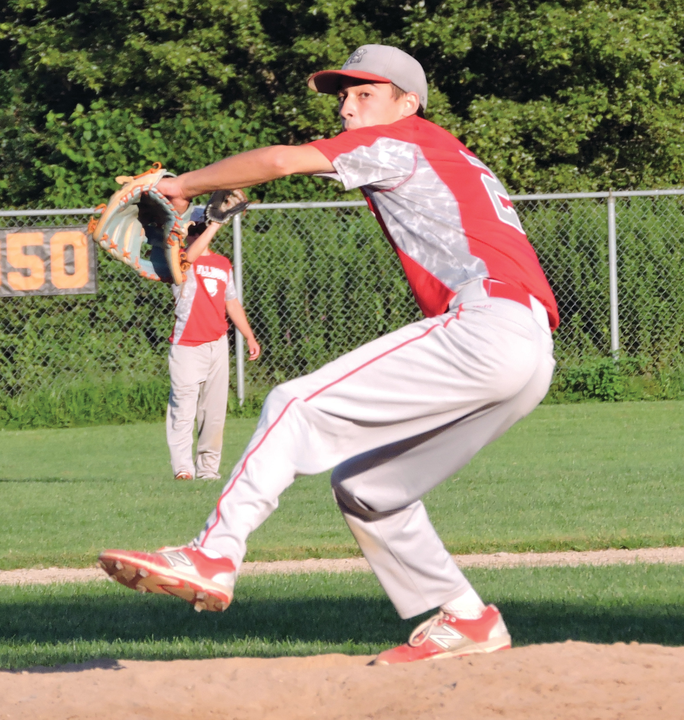 QUALITY START: Anthony Melise picked up the win on the mound for the Cranston Bulldogs on Monday night.