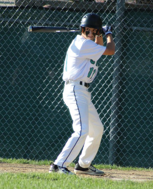 POWER SURGE: Colby Kuzman hit three home runs for CWLL against Cumberland American on Friday.