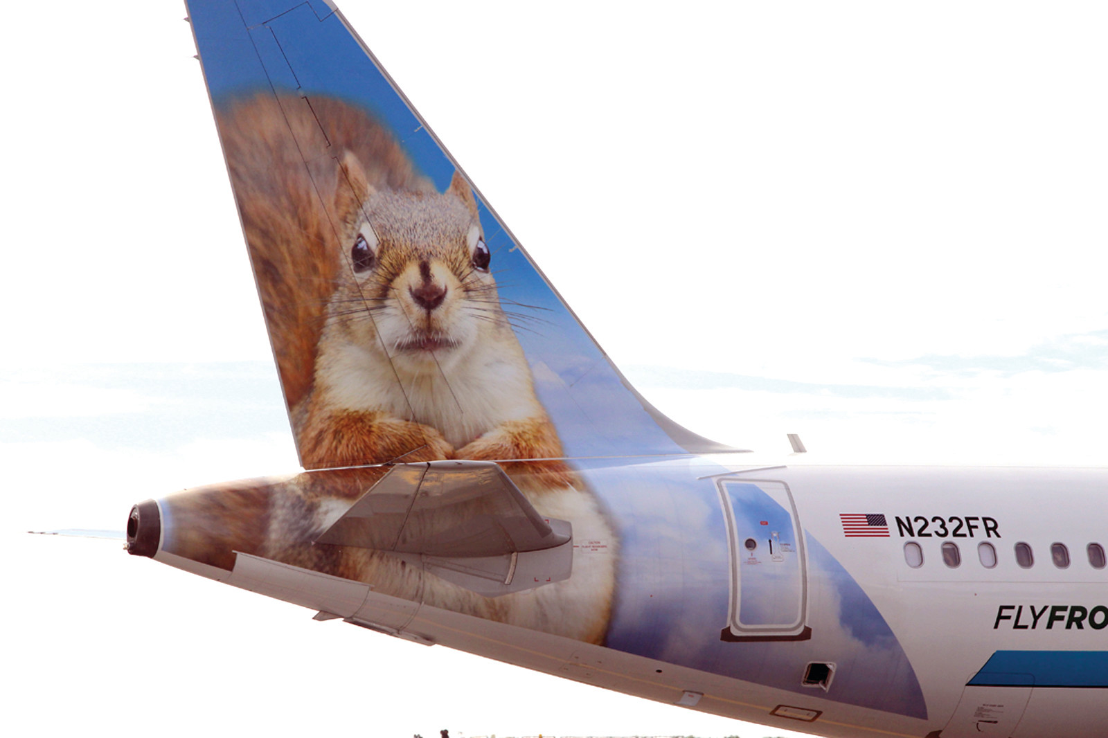 SAMMY THE SQUIRREL: Sammy goes nuts for Rhode Island on his first trip here.