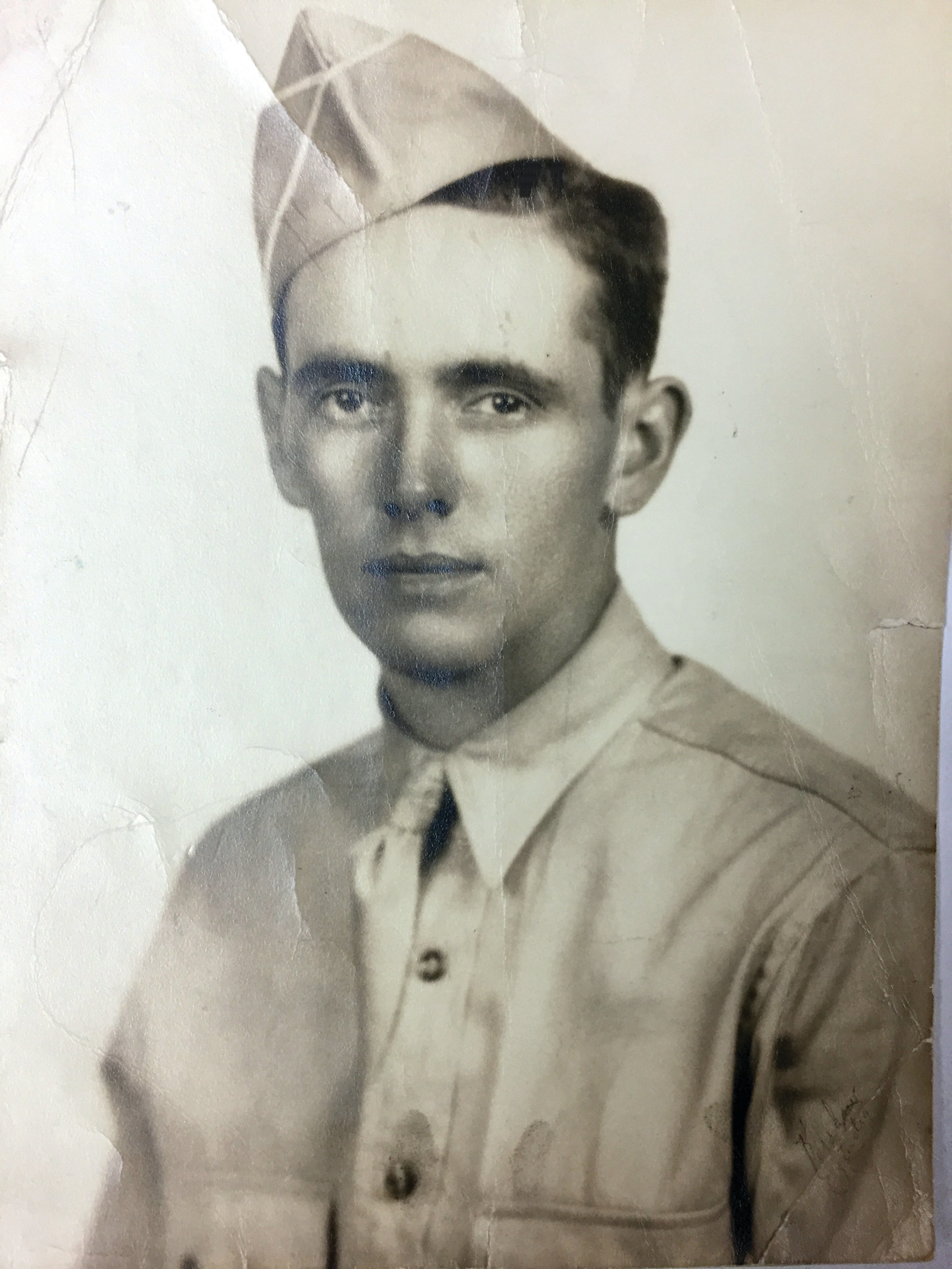 LOCAL HERO: A portrait photograph of Donald H. Rubery, who was born in Warwick on April 23, 1918.