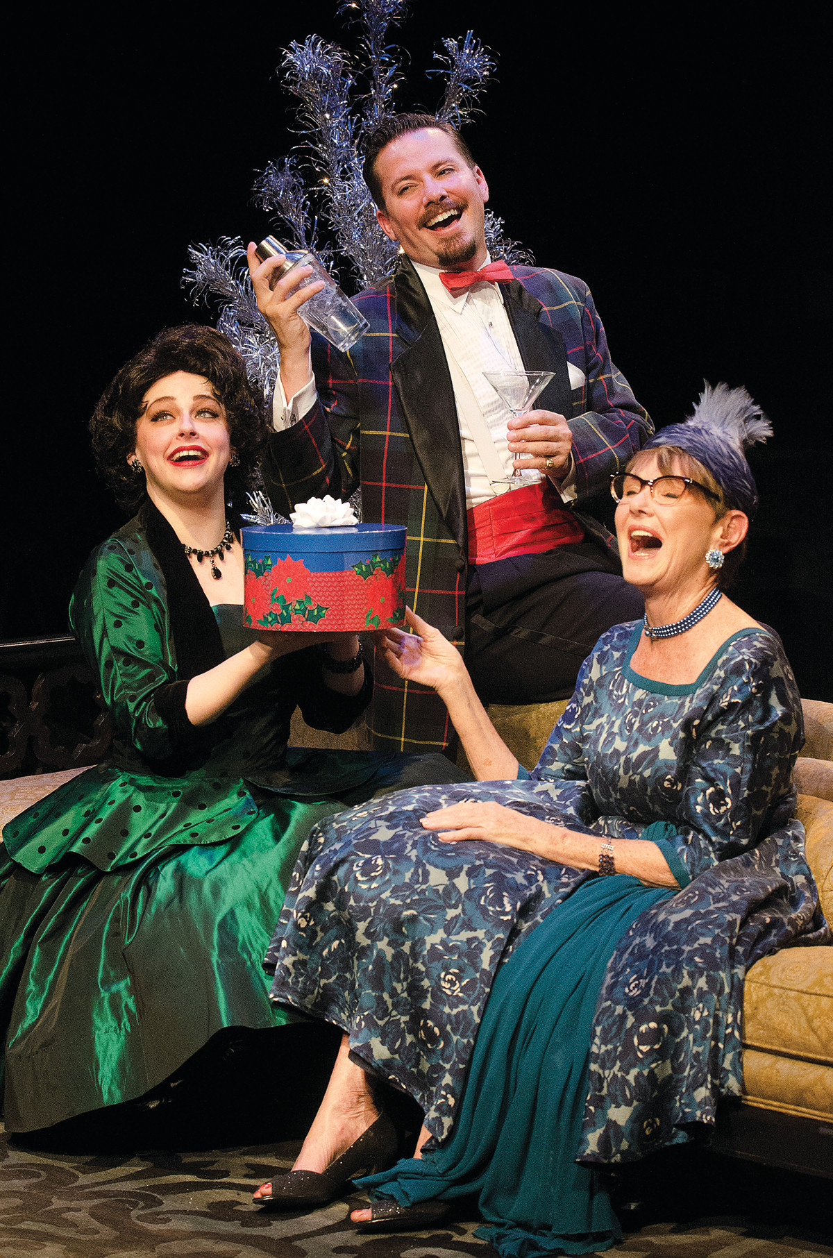Valerie Westgate as Gillian, Charles Lafond as Nicky, & Isabel O'Donnell as Auntie Queenie.