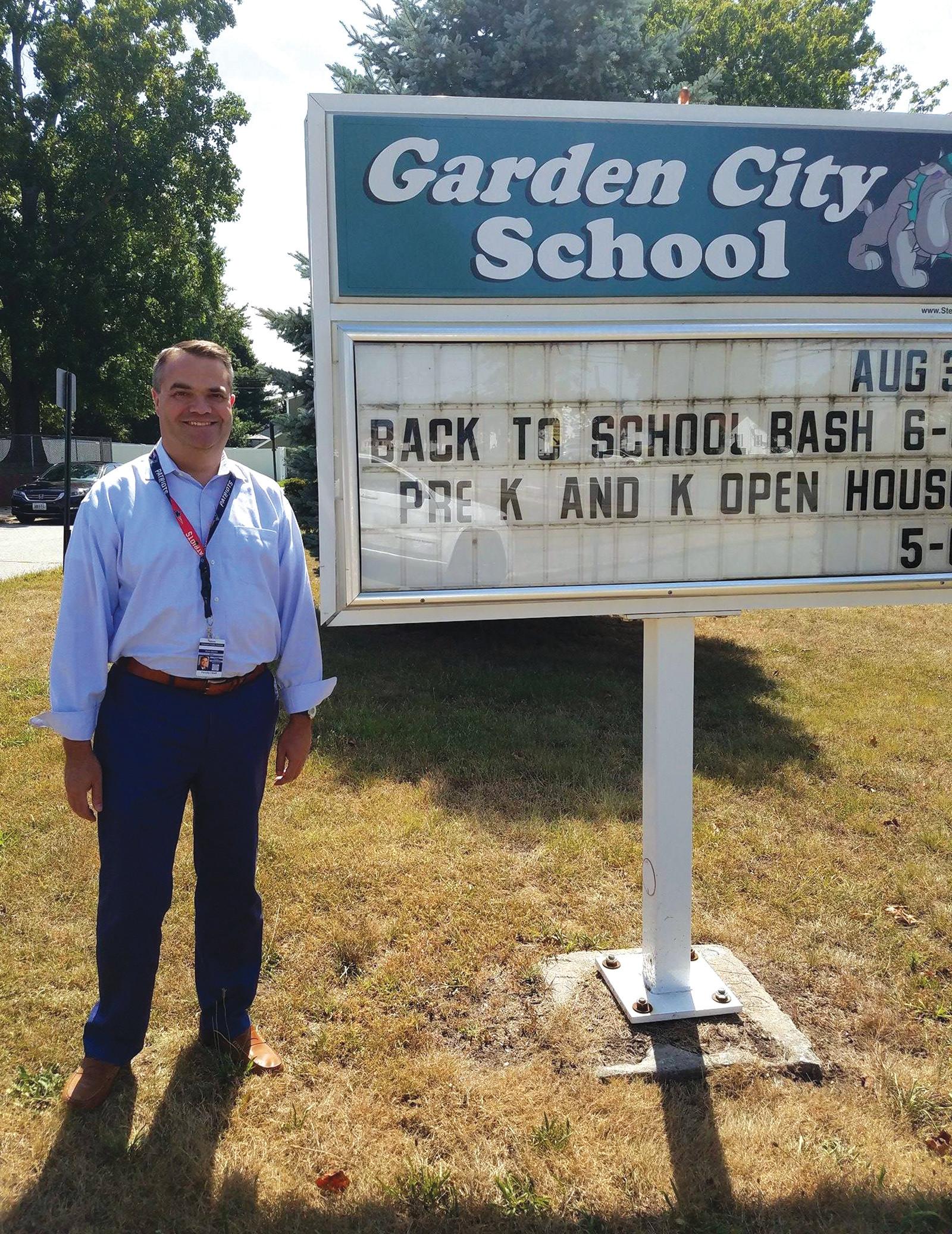 garden citys bryan byerlee for the past seven years bryan byerlee has been the - Garden City Elementary School