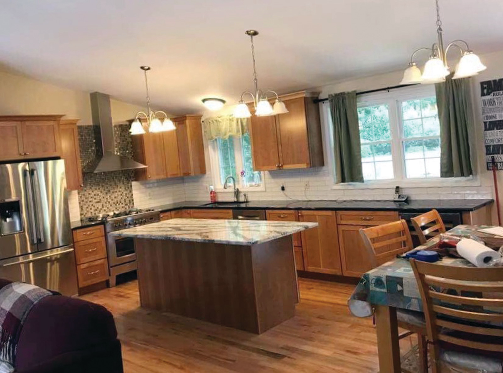 Check out the handiwork and superb craftsmanship of the team at McCormick Home Improvement, LLC., based in Warwick and ready to remodel your kitchen ~ call 401-463-7674 to see how you can get started.