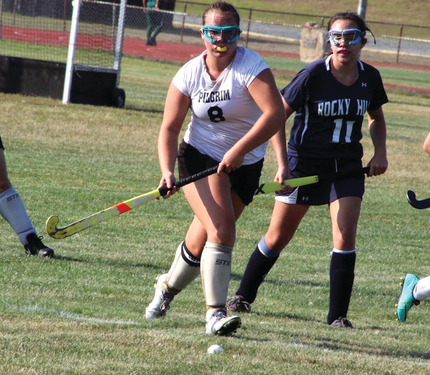 Karly Evans had a goal in Pilgrim's victory.