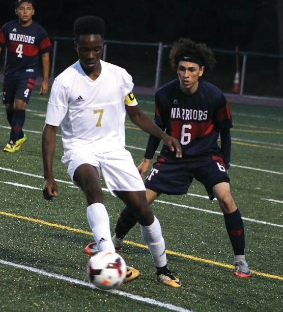Chukwudi Onyejose netted a hat trick for the Hawks.