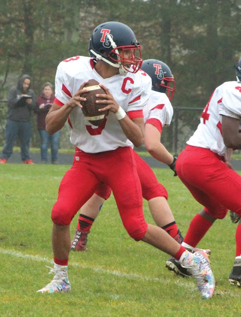 Anthony Vann totaled four touchdowns against Tiverton.