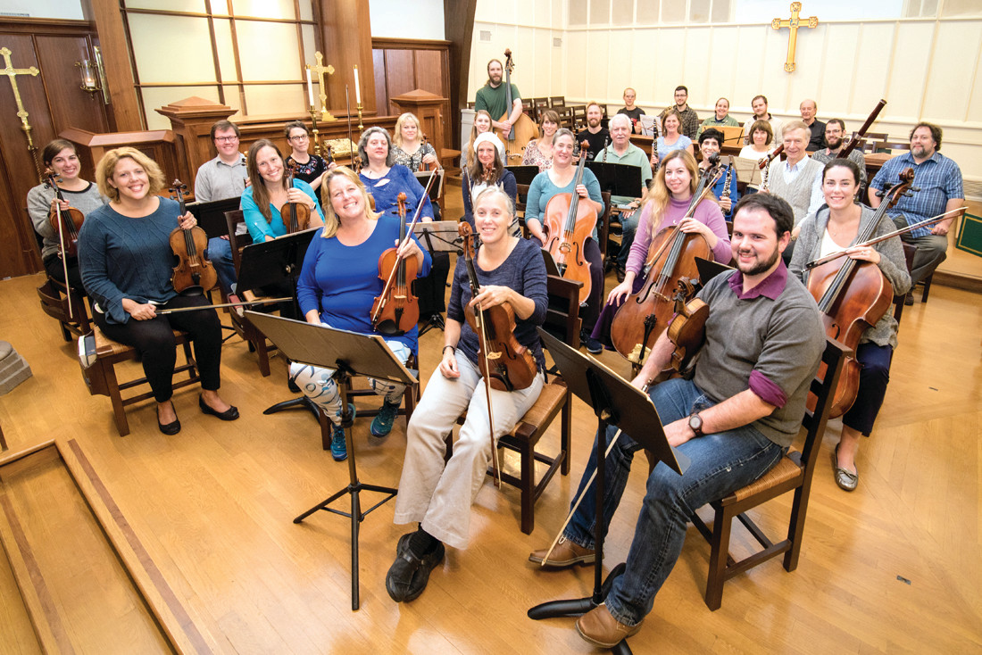 SECOND CONCERT: The Chamber Orchestra of Barrington at St. John's will give the second concert of its inaugural season on Feb. 25.