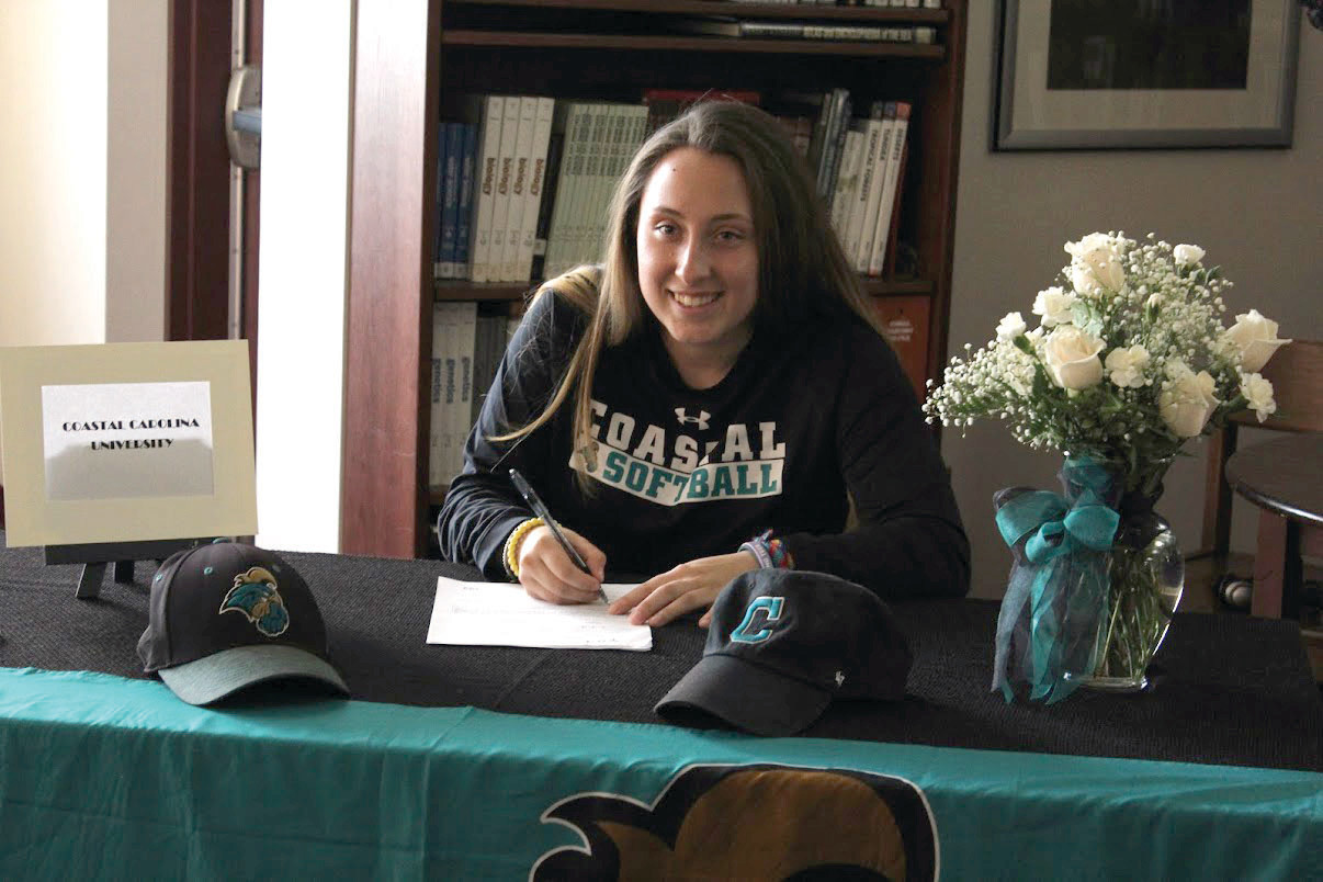 Mackenzie Beyer signs with Coastal Carolina.