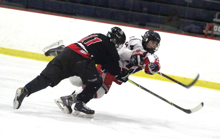 Collin Csoszor scored all six goals for Toll Gate in a 6-4 win over PSW Co-op.