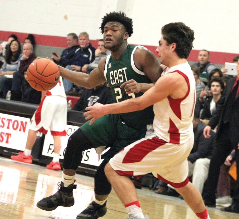 East's Aireus Raspberry scored 18 points to lead East over West.