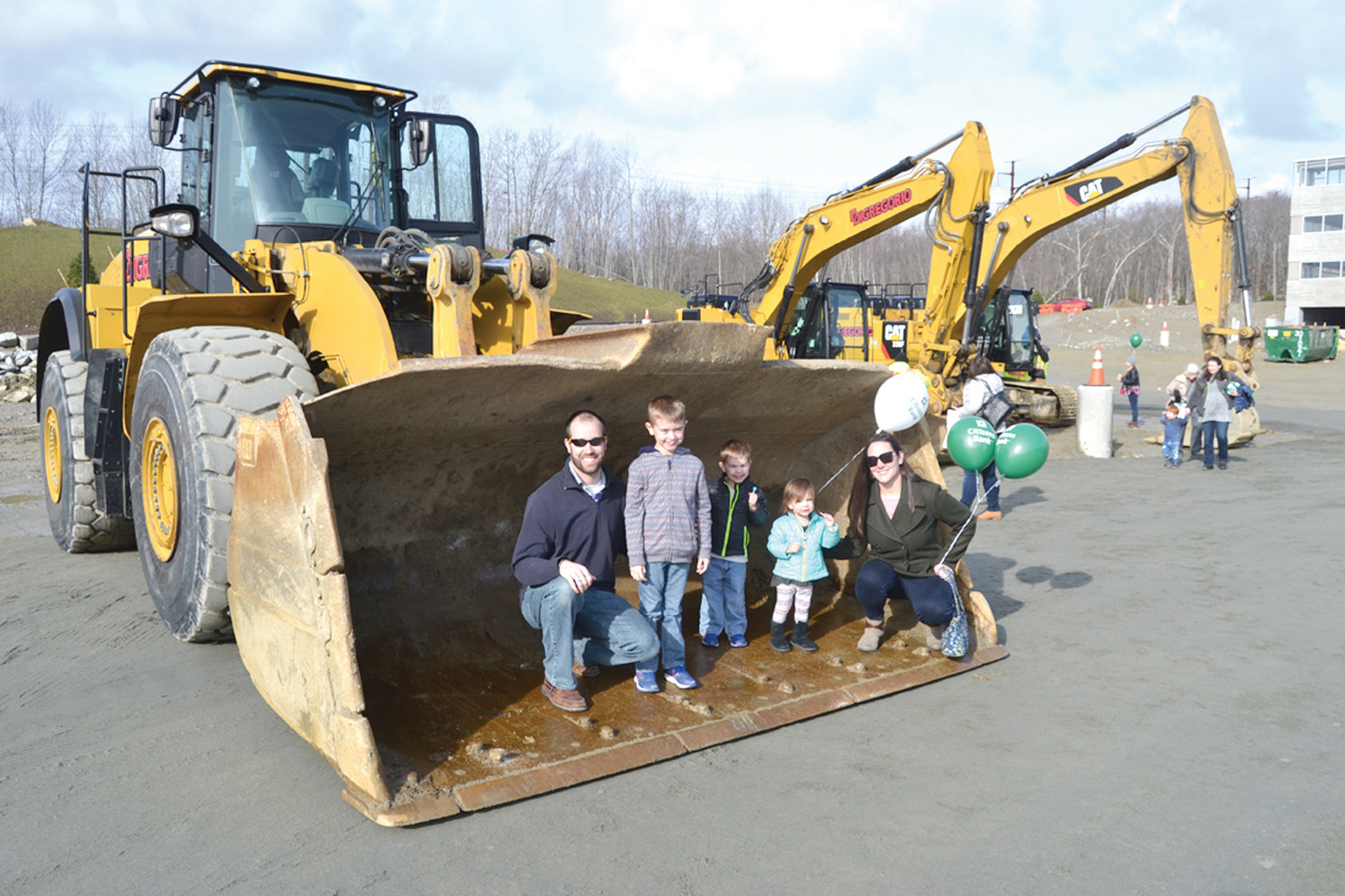 TOUCH A TRUCK: The Shields family of Warwick decided to take a tour of the Citizens Campus to see where their dad would work. They were thrilled with what they saw, including a touch a truck event.