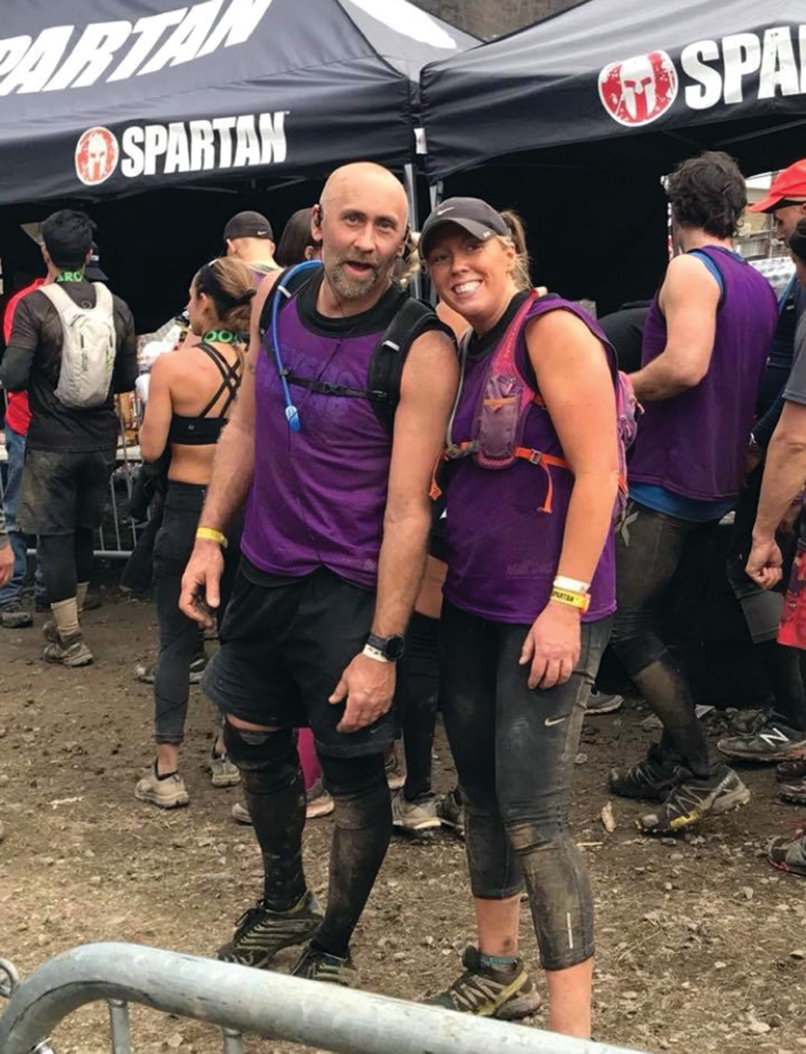 RACE TO THE FINISH: Warwick's Heather Sischo after competing in the Spartan Ultra Beast in April. Sischo qualified for the Ultra Beast World Championships in Iceland.