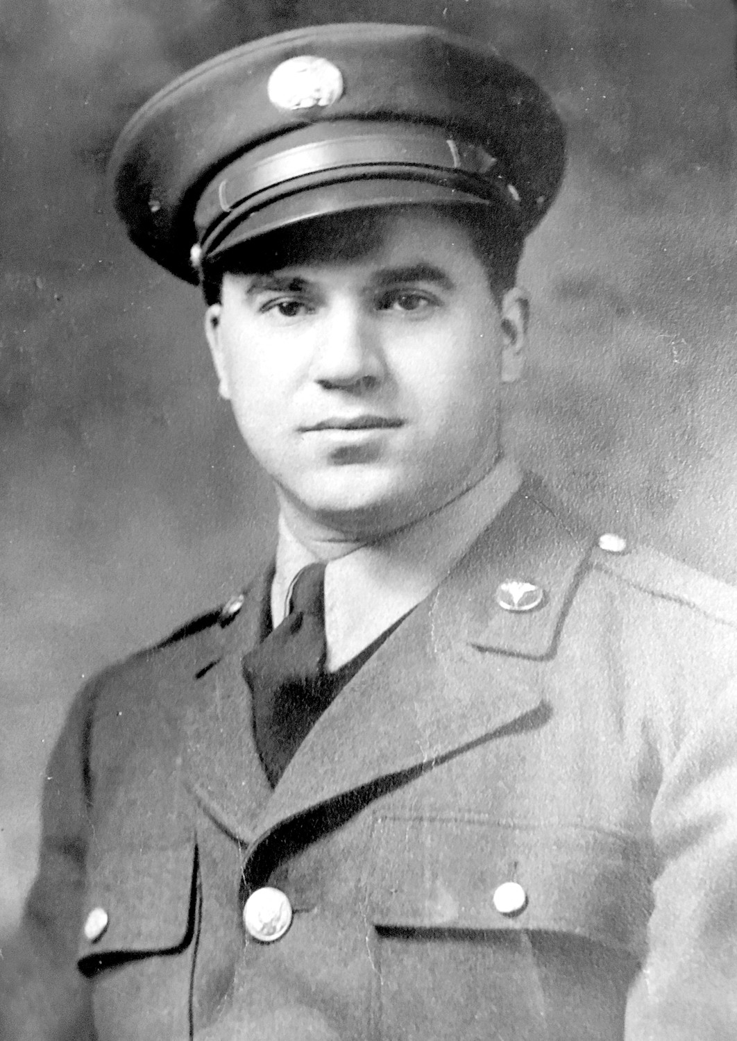 THAT WAS THEN: Louis A. Cambio pictured in his early 20s during his service in the United States Army, where he served during World War II. (Submitted photo)