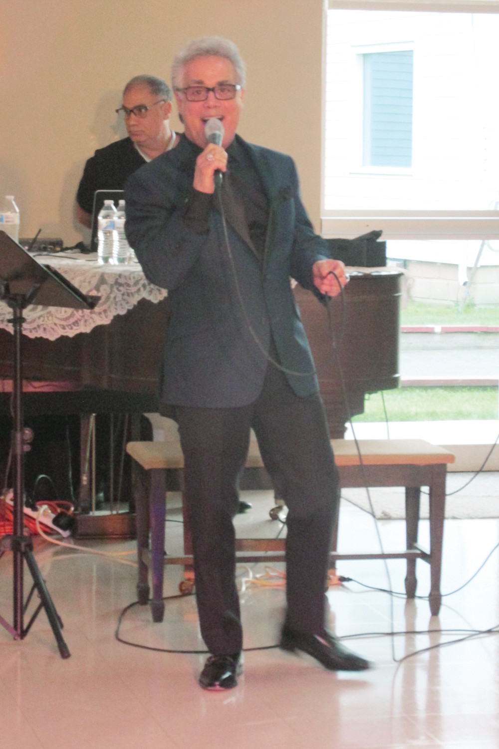 "MICHAEL'S MARK: Talented entertainer Michael Panarello, who sold out the Johnston Senior Center Saturday night for his extraordinary ""Tribute to Frankie Valli"", received rave reviews for what almost 200 people called ""an excellent performance."""