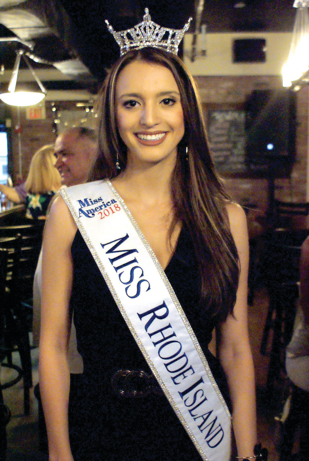 RI BEAUTY: On June 24, family and friends gathered at the Pub on Park to raise funds for Miss Rhode Island Allie Coppa of Cranston for her to continue on to the Miss America Pageant.