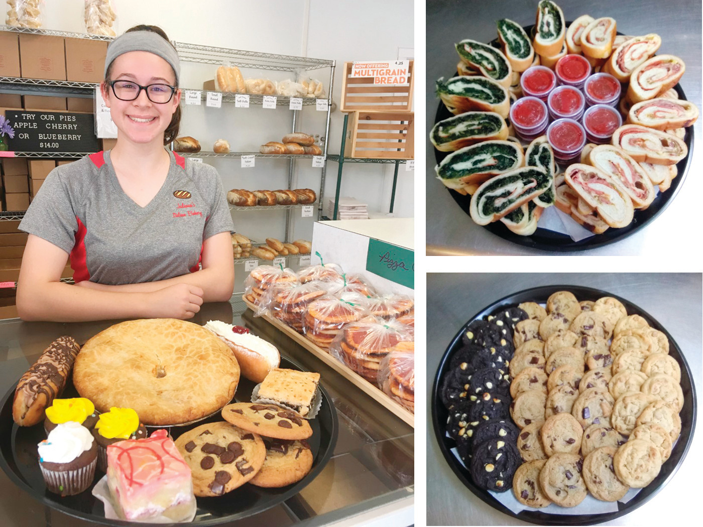 For all your celebrations this summer, avoid the hot kitchen and head over to Juliana's Italian Bakery for fresh baked goods ~ both sweet and savory.  You might even meet Juliana, the bakery's namesake!