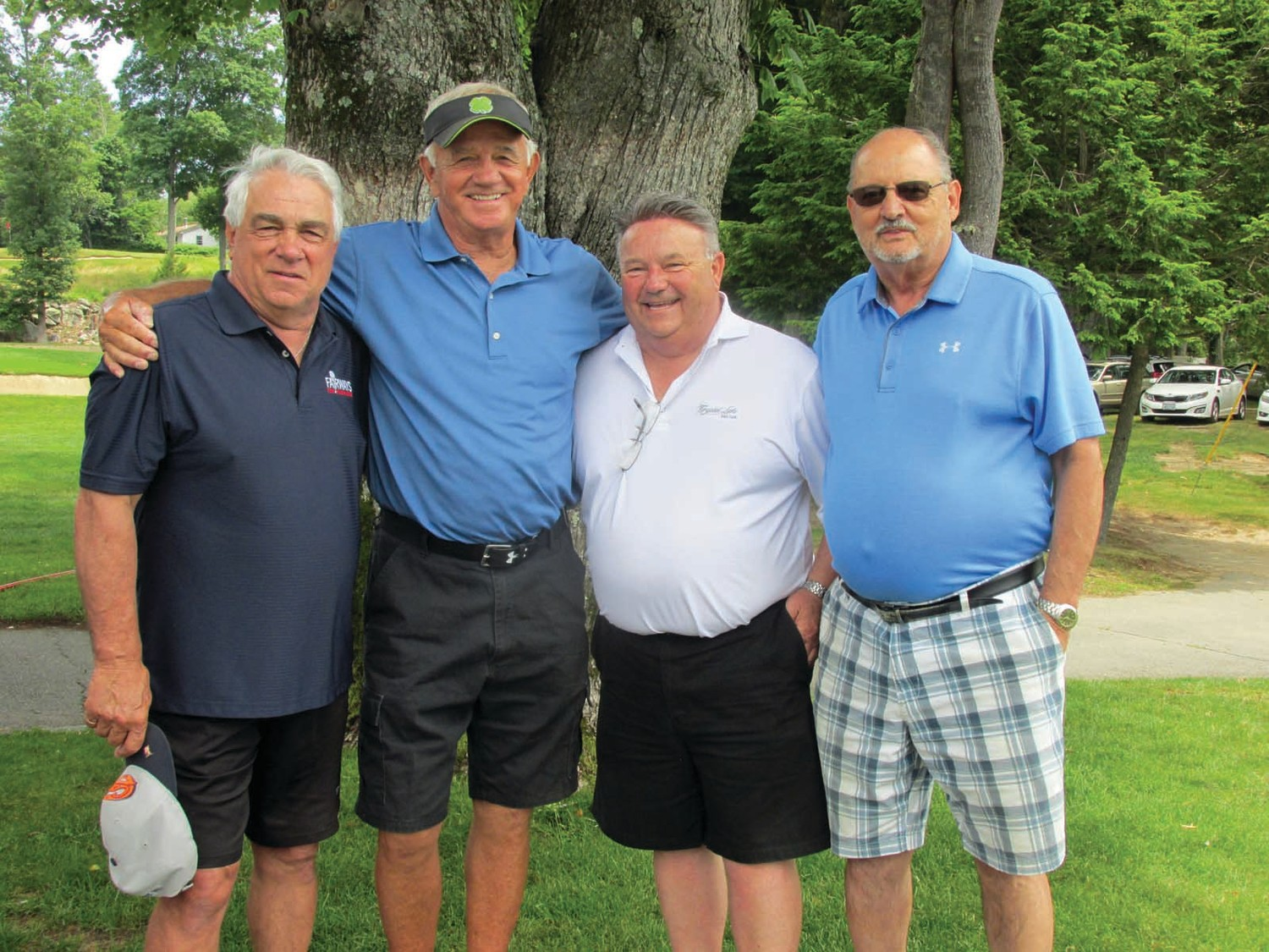 FIRST FORCE: The 1963 JHS baseball team captured the Panthers' first ever state champion ship in any sport. Former Panthers Dave Pisaturo, Scott Moore, Ed Skovron and Mel Steppo have played in every Gary V. Mazzie Memorial Golf Tournament.