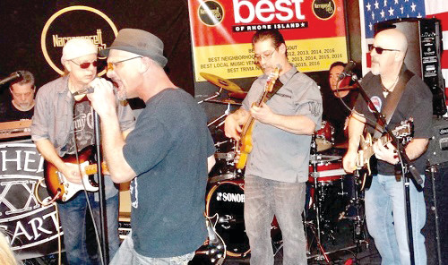 "MIGHTY MUSICIANS: Saturday's ""Fight against Homelessness"" among veterans will be headlined by Mother Bogart, a Warwick-based band that has also launched an on-going fight to wipe out veterans being without a home."