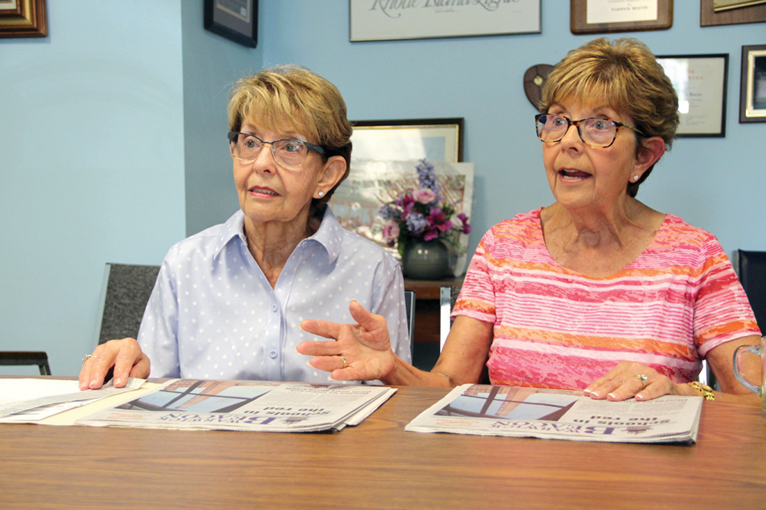 DISAPPOINTED BY D.C.: Sisters Jean and Joan speak about their experiences as small business owners who are disappointed with the lack of attention being paid to blue collar workers.