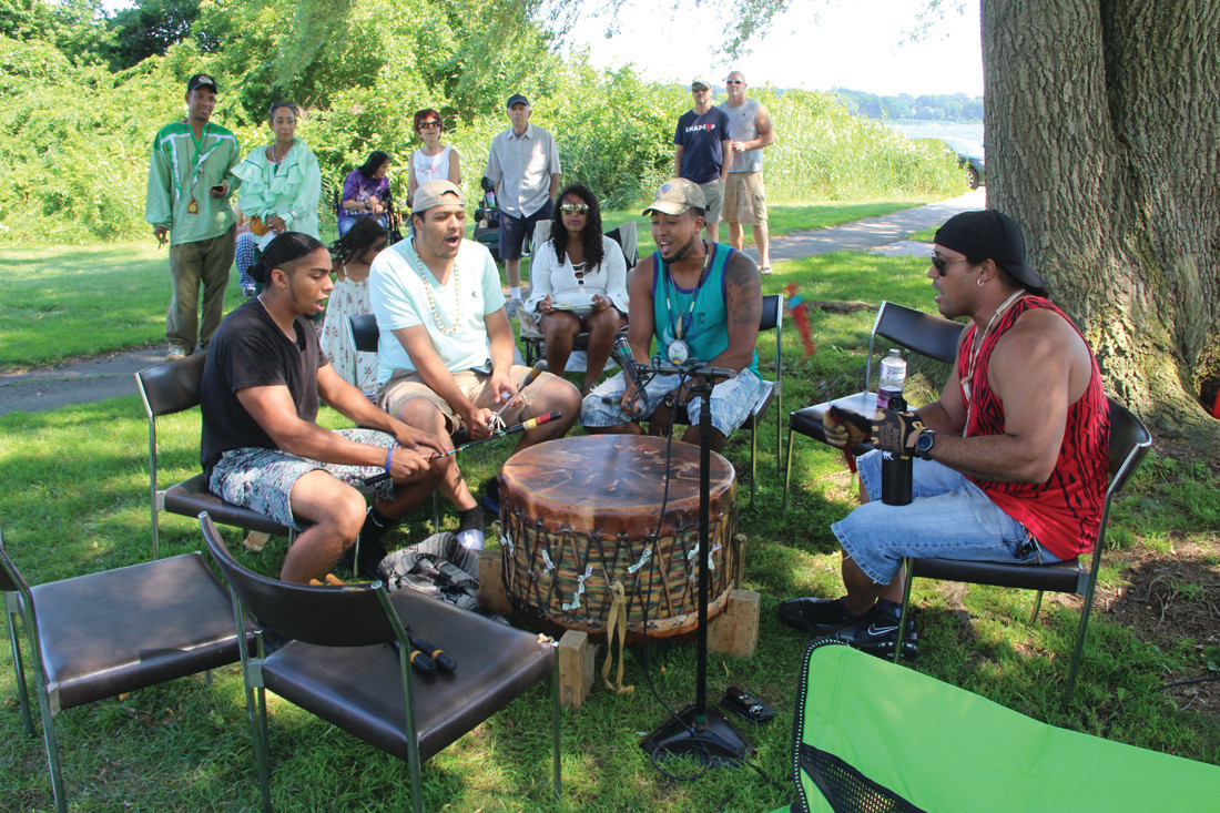 Drums will set the beat for dancing and chanting which will hopefully energize the crowd this year once again.