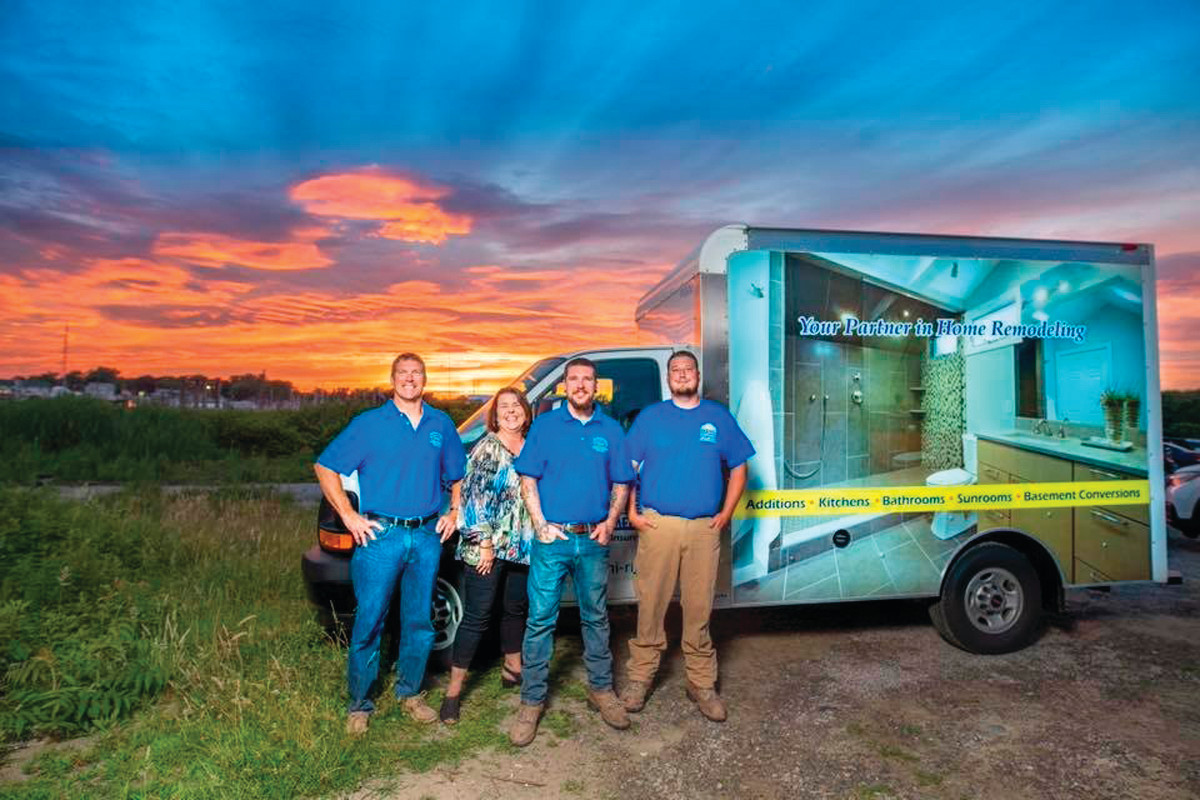 Meet the talented team of McCormick's Home Improvement, LLC, led by Chris and Kristen McCormick of Warwick.  Watch for their colorful truck in your neighborhood ~ and call 401-463-7674 for your free consultation today!