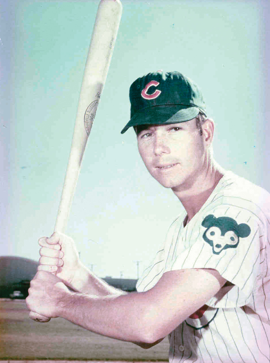 PLAYING PRO BALL: John Kindl was traded to the Cubs in 1967 after starting his professional career in the St. Louis Cardinals organization. The Cubs tried to make Kindl into a third baseman, but after a lifetime in the outfield it was a difficult transition.