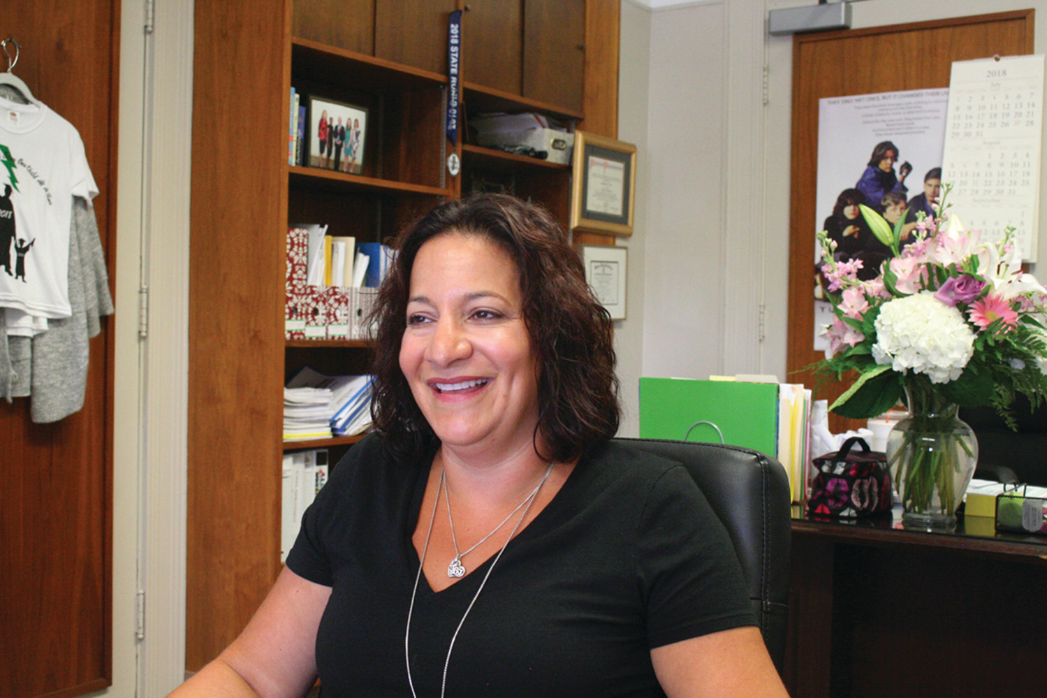 READY FOR A NEW CHAPTER: Superintendent Jeannine Nota, now in her fourth year in the post, is ready for the changes coming to Cranston schools.
