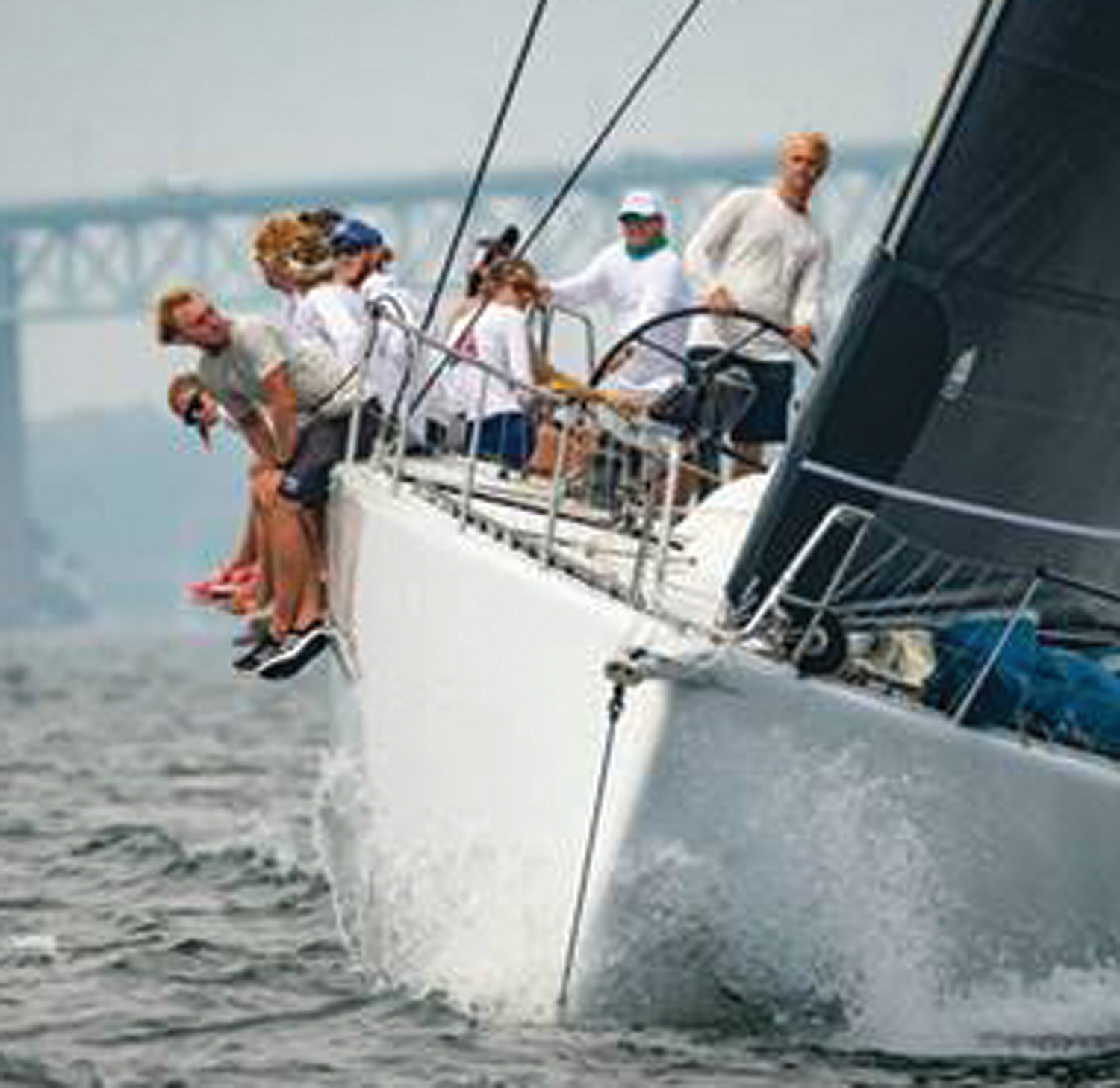 ON THE WATER: The Swan 48 Dreamcatcher  from Mystic, Conn. and the J/105 Young American YCC from Rye, N.Y. won the Youth Trophy in IRC and PHRF, respectively, at the 2018 Ida Lewis Distance Race.
