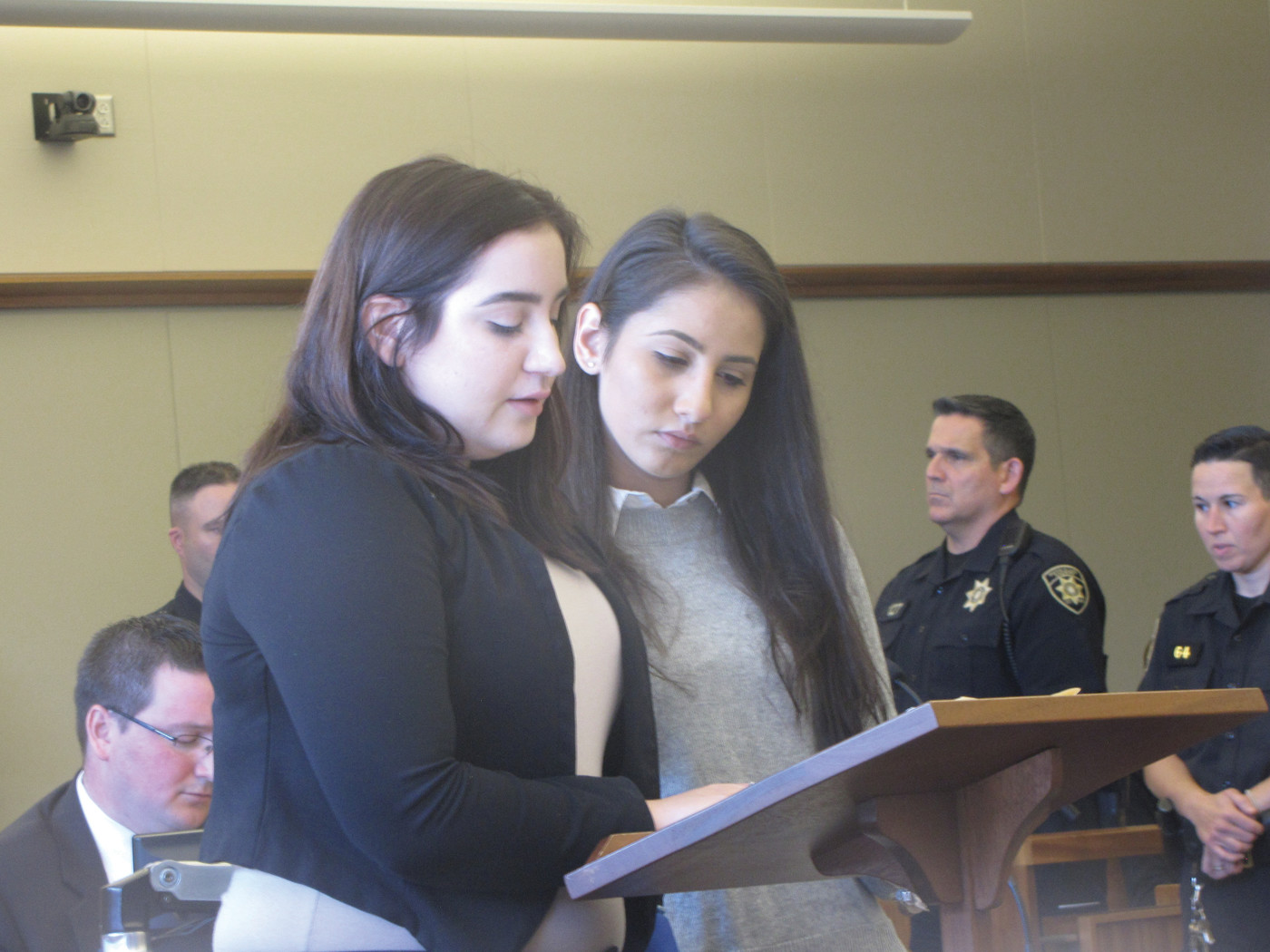 Alyssa Garcia at last year's trial.