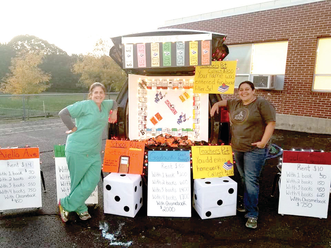 DICED DEAL: There was plenty of planning that went into this Trunk or Treat display during Winsor Hill School's Harvest Night.