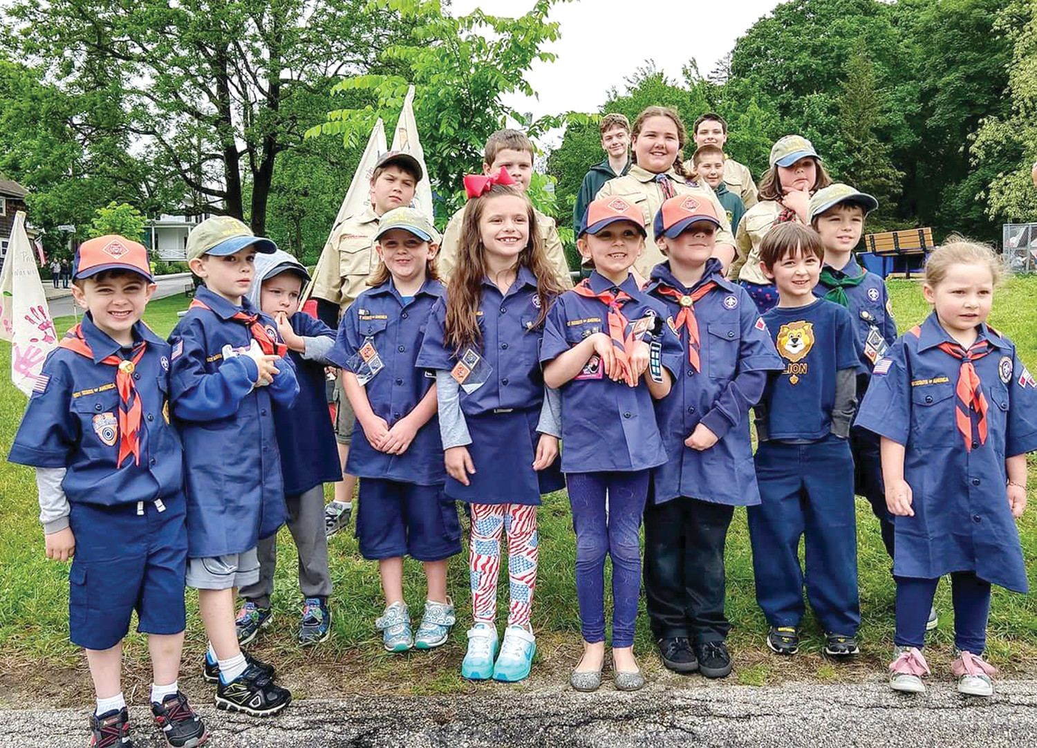 Pack 1 Warwick East Greenwich Memorial Day Parade 2018