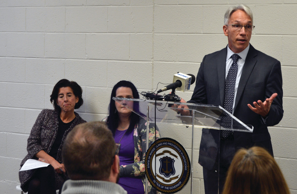 "YOU ARE NOT ALONE: Jim Ryczek, CEO of Horizon Healthcare Partners, said the new BH Link facility would provide assistance that will allow Rhode Islanders experiencing behavioral health crises to ""recover, heal and live happy lives."""