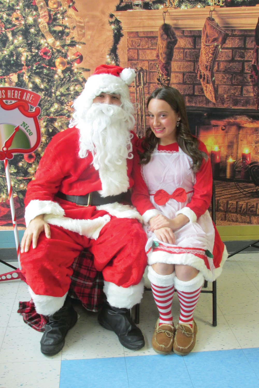 GRAND GUEST: In keeping with tradition, Santa Claus will make a special visit to Johnston Saturday for the 8th Annual JHS PTSO Holly Fair that will run from 9 a.m. to 4 p.m. inside the school cafeteria.