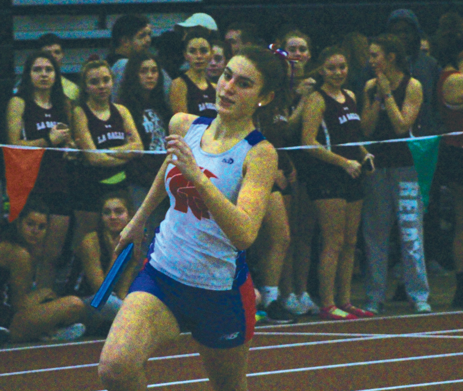 ON THE RUN: Toll Gate competes in the relays.