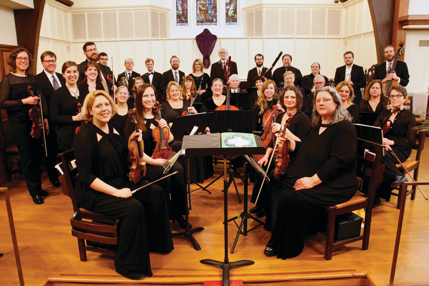 CLASSICAL SOUNDS: The Chamber Orchestra of Barrington invites members of the community to attend its third concert of the season Feb. 17 at St. John's Episcopal Church in Barrington.