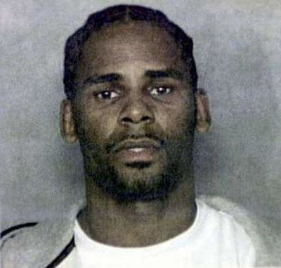 Mugshot of R. Kelly from 2003